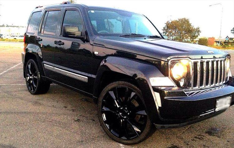 Jeep Liberty Jet 2012 Blacked Out Jeep Liberty Jeep Commander Jeep Patriot