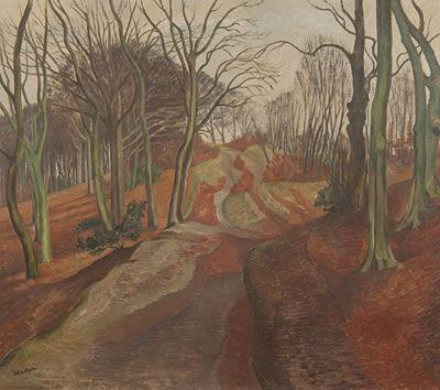 John Nash - Winter in a Beechwood