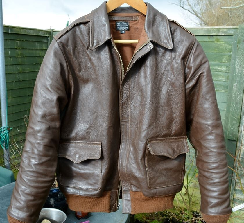 295a03057 BILL KELSO MFG - #A2jacket Dubow 1755 Liberty Horsehide www ...