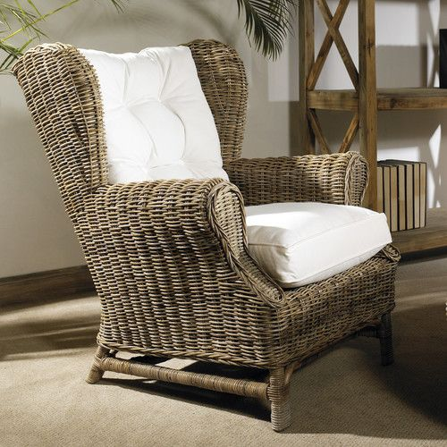Wing Kubu Chair Birchlane With Images Comfy Chairs Rattan Chair Furniture
