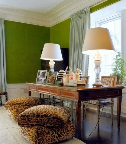 Ruth Burts Interiors: fifty (more) shades of green