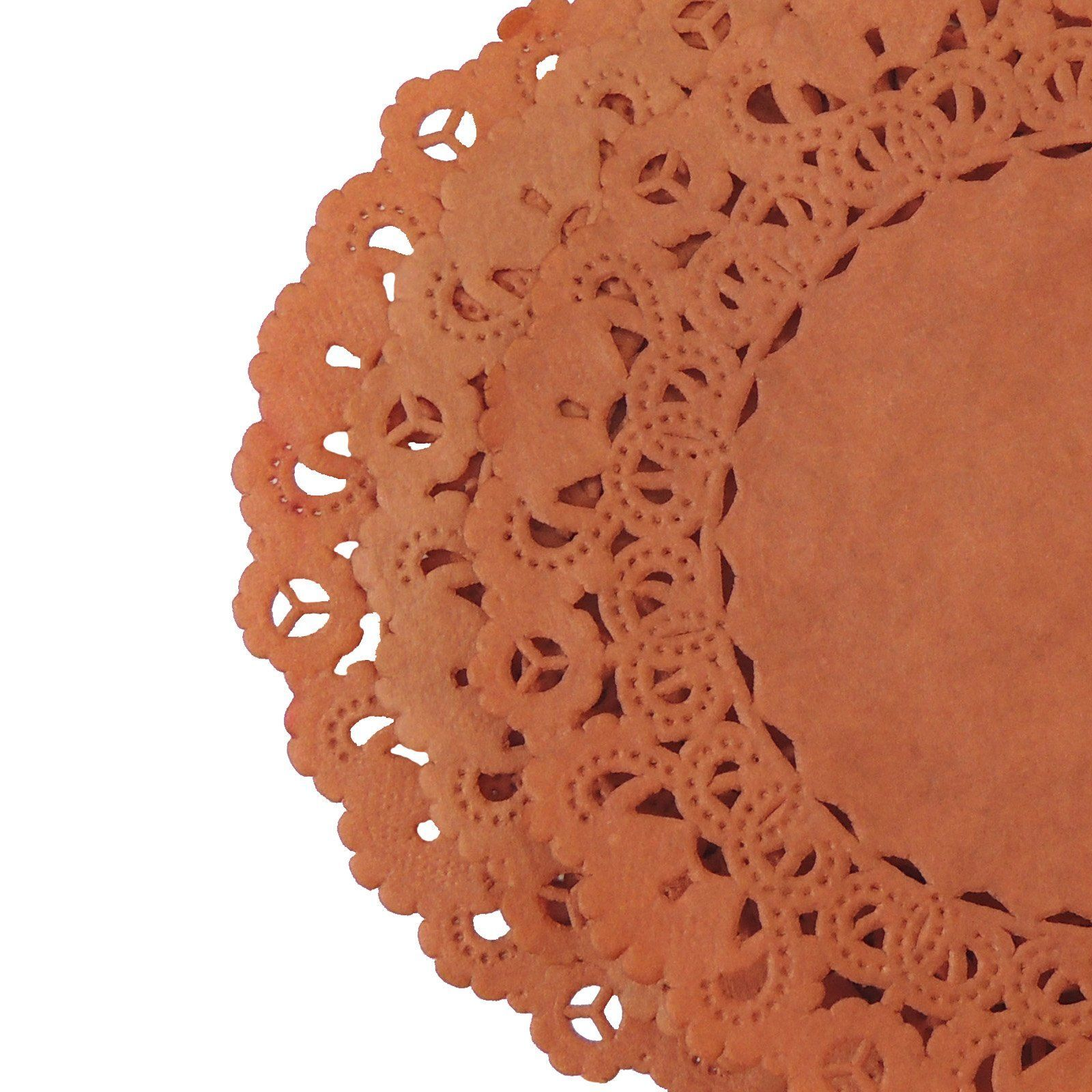 COPPER RUST Round Paper Doilies | Normandy | Chargers, Placemats ...
