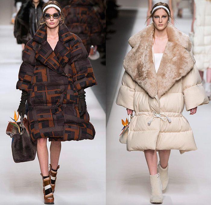 نتيجة بحث الصور عن Fendi Maxi coat winter 2016