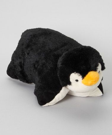 Cute Names For A Penguin Pillow Pet : Take a look at this Perky Penguin Pillow Pet by Pillow Pets on #zulily today! Plush Toys ...