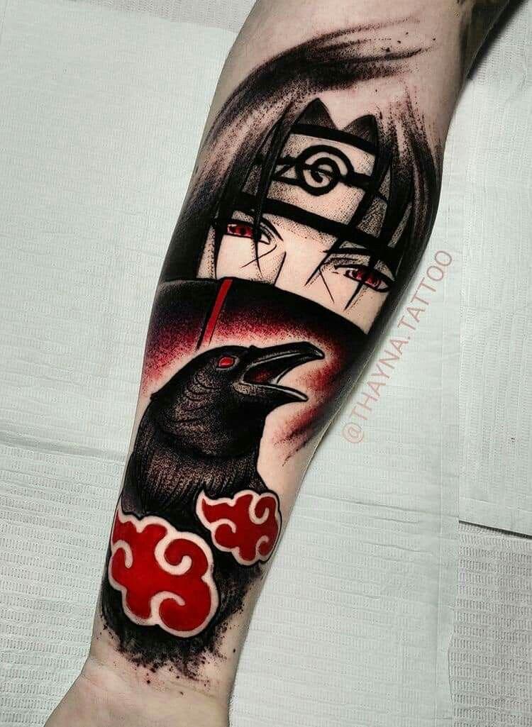 Uchiha Itachi Anime Tattoos Kakashi Tattoo Naruto Tattoo