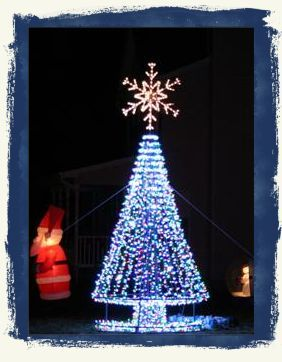 5 Foot Diameter All Metal Outdoor Christmas Tree Base For 10 12