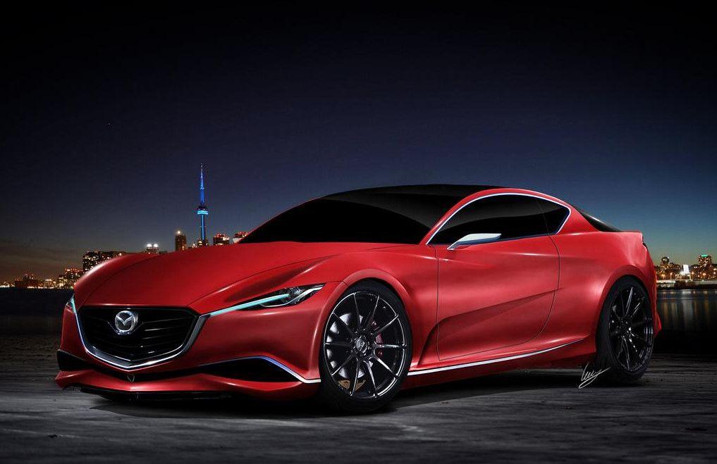 "automotivated: ""2016 Mazda RX-7 concept (by Car Fanatics"
