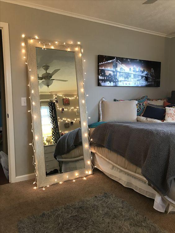 Genius Lighting Ideas For Girls Bedrooms Dorm Room Inspiration Small Room Bedroom Bedroom Decor