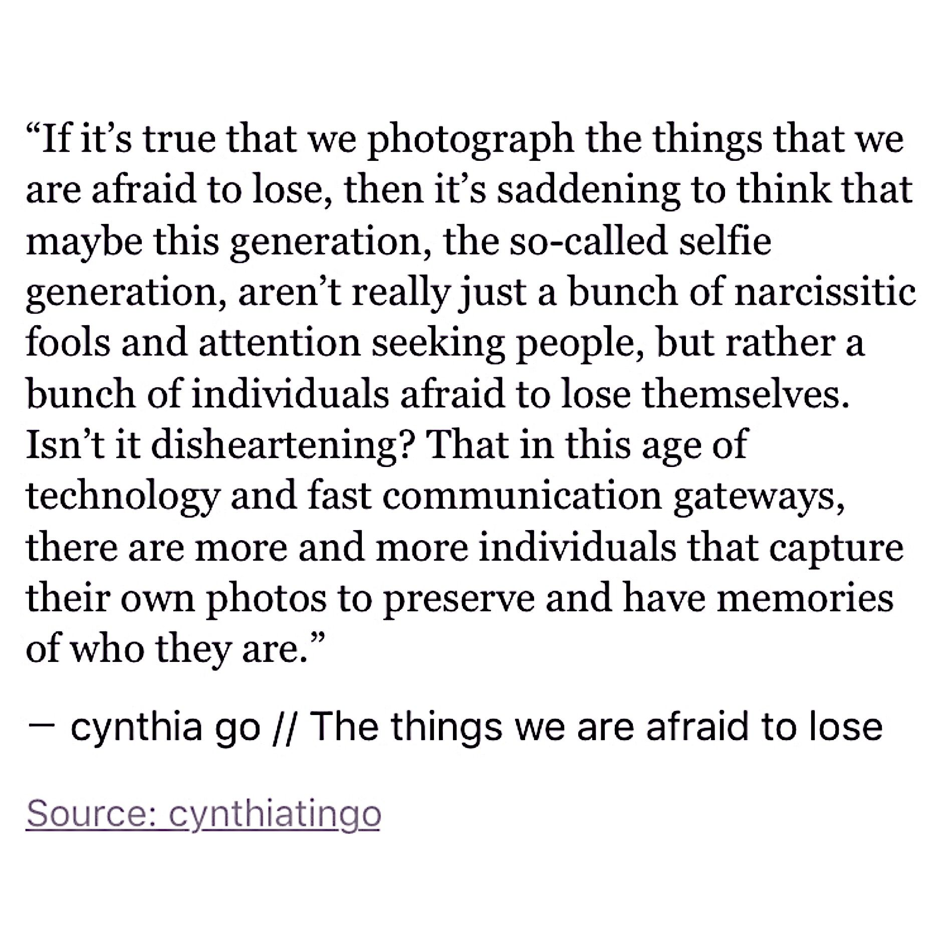 the things we are afraid to lose pinterest random thoughts