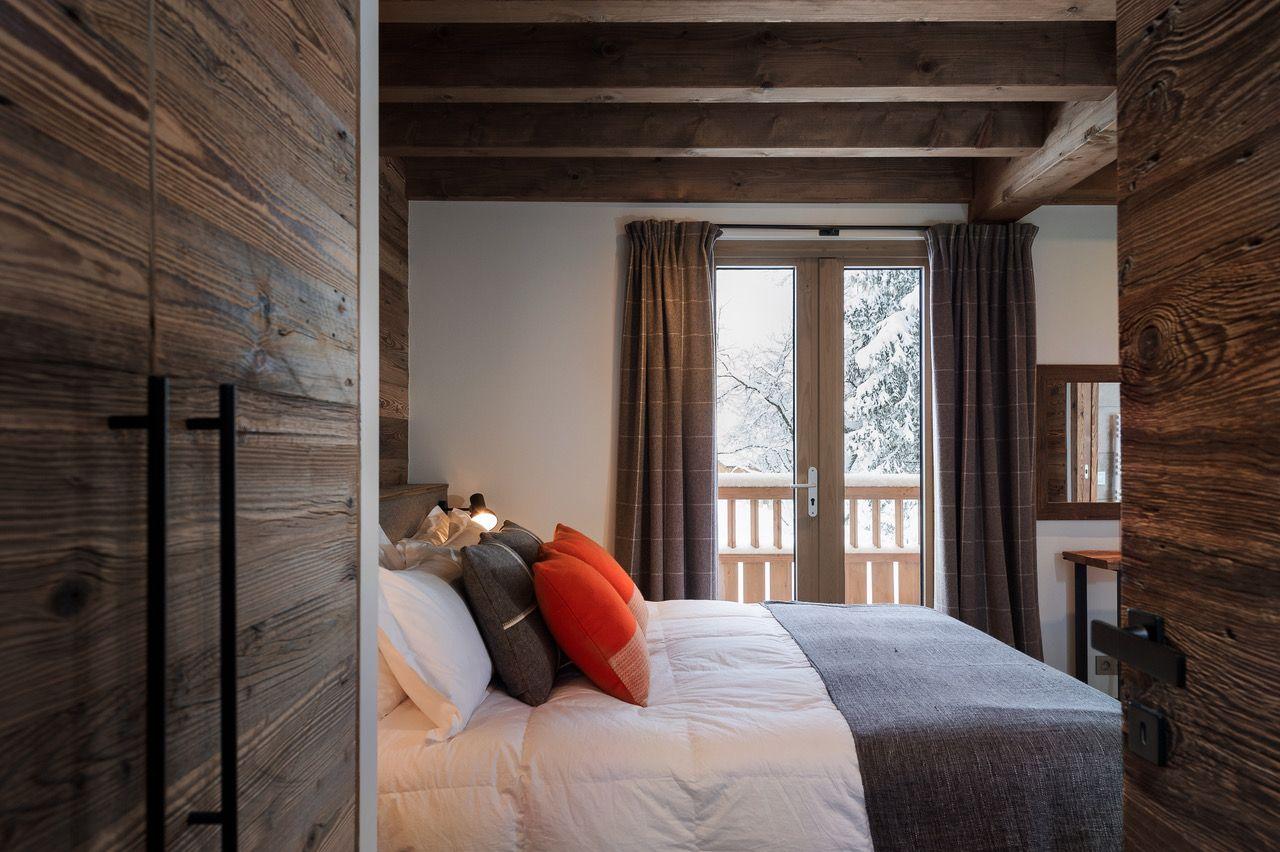 Rideaux Jetee De Lit Coussins Sur Mesure Arpin Curtains Throw Cushions Custom Made Arpin Chalet Contemporain Maison Chalet