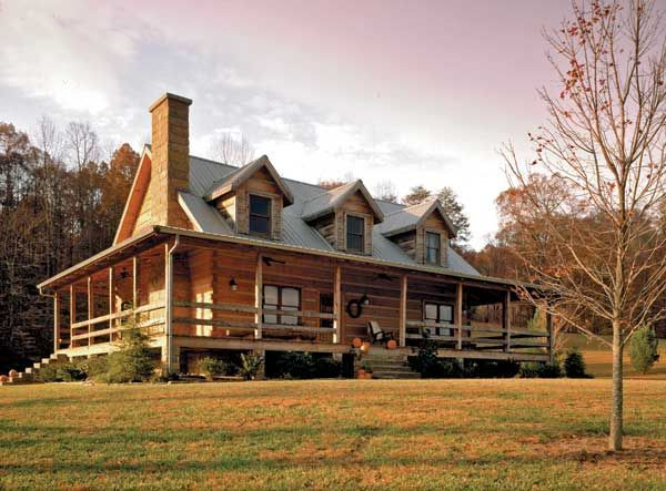 Case Di Tronchi Americane : Log homes this is just right for me : house cabin pinterest
