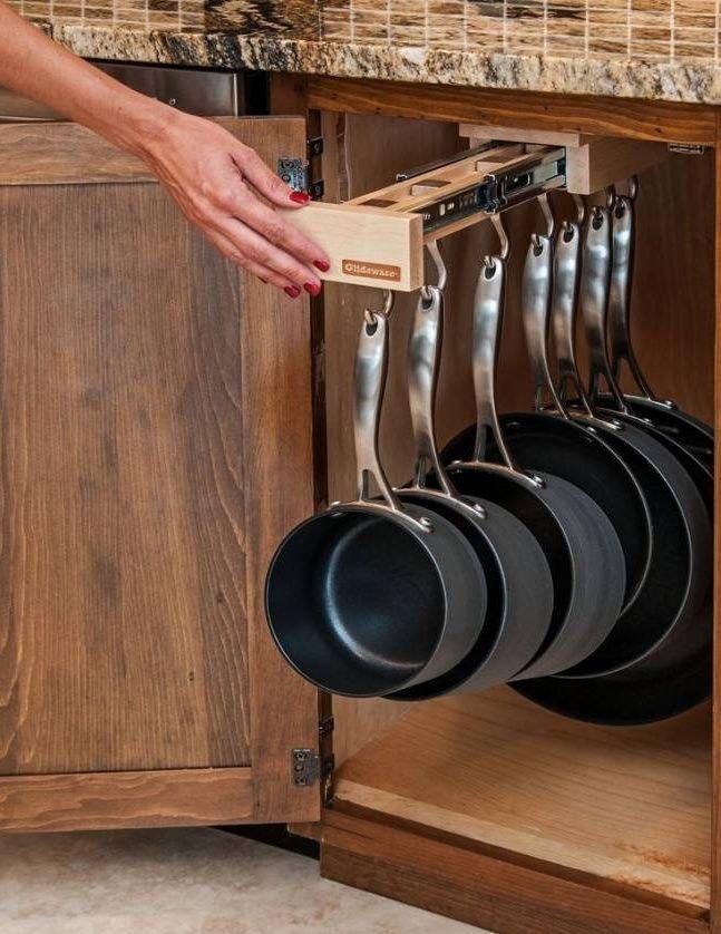 13 ideas geniales de accesorios y organizadores para for Cocina rustica que adorna la idea