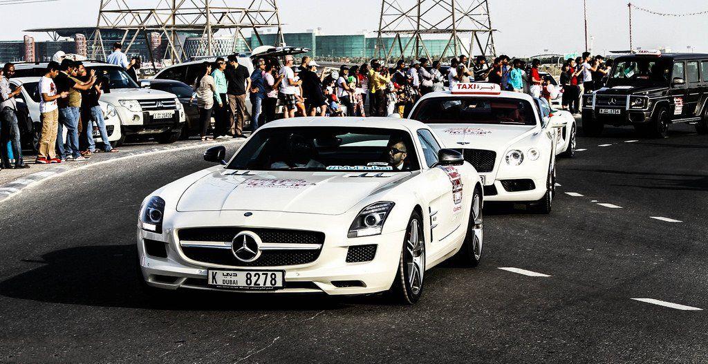 Dubai Taxi Mercedes SLS AMG GT