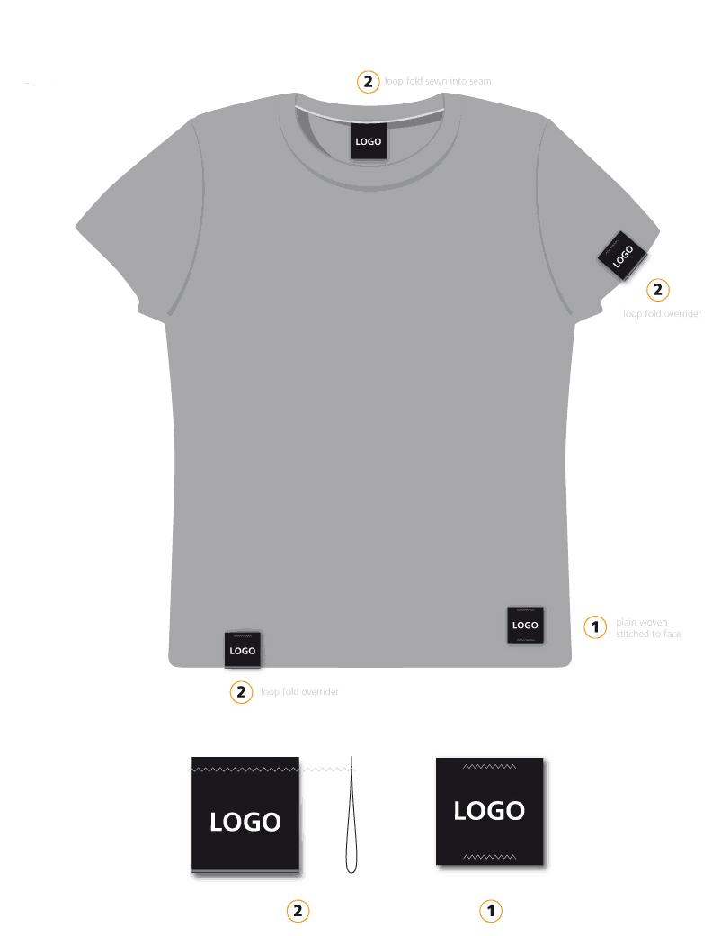 Men's and women's clothing product branding | Paul Cartwright Branding