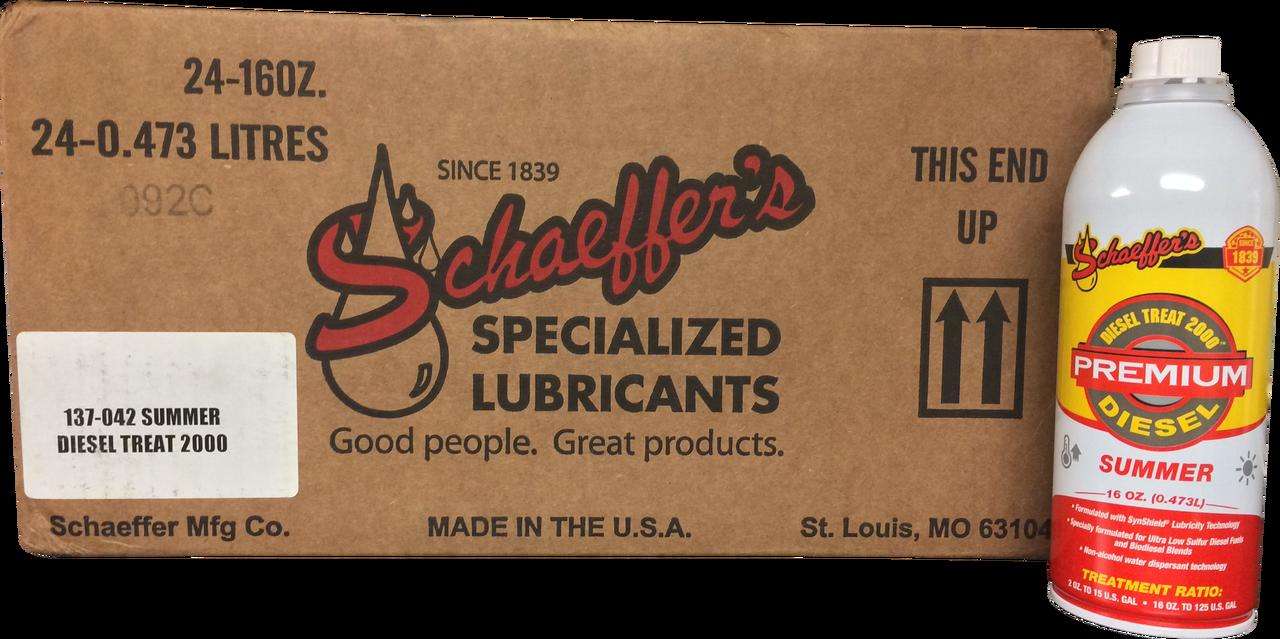 Schaeffer S 137 Diesel Treat 2000 Fuel Additive 24 Pint Case Buy Schaeffer Oil With Images Schaeffer Oil Fuel Additives Oil News