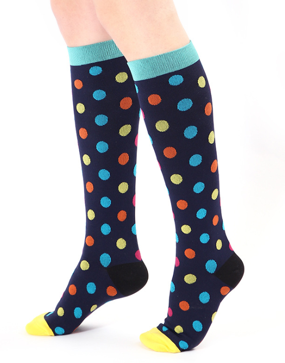 ddbdb59ec3c Designer Compression Socks - Support Stockings ~ Reduce Swelling ...