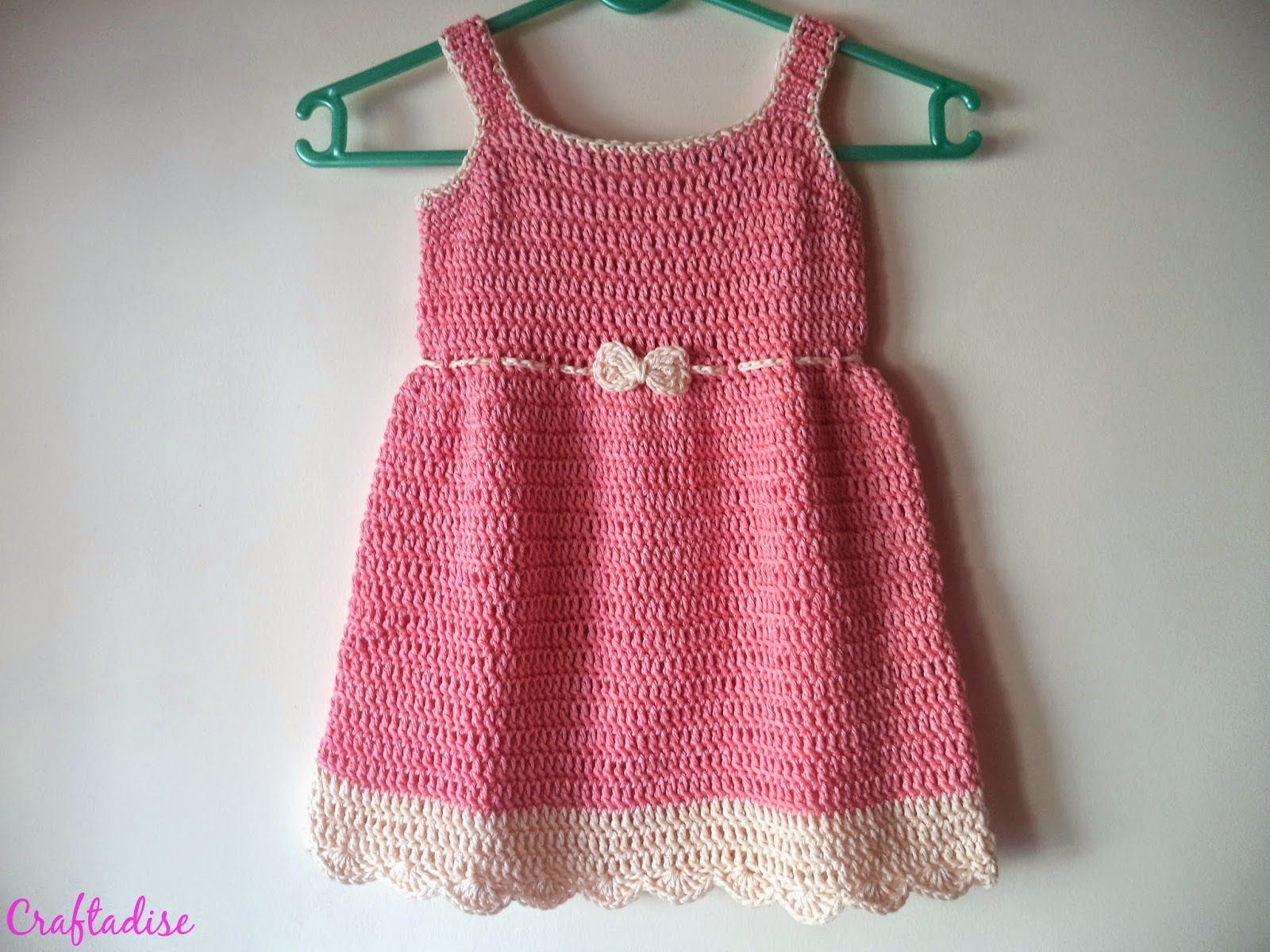 Free crochet pattern crochet summer peach toddler dress baby free crochet pattern crochet summer peach toddler dress bankloansurffo Image collections