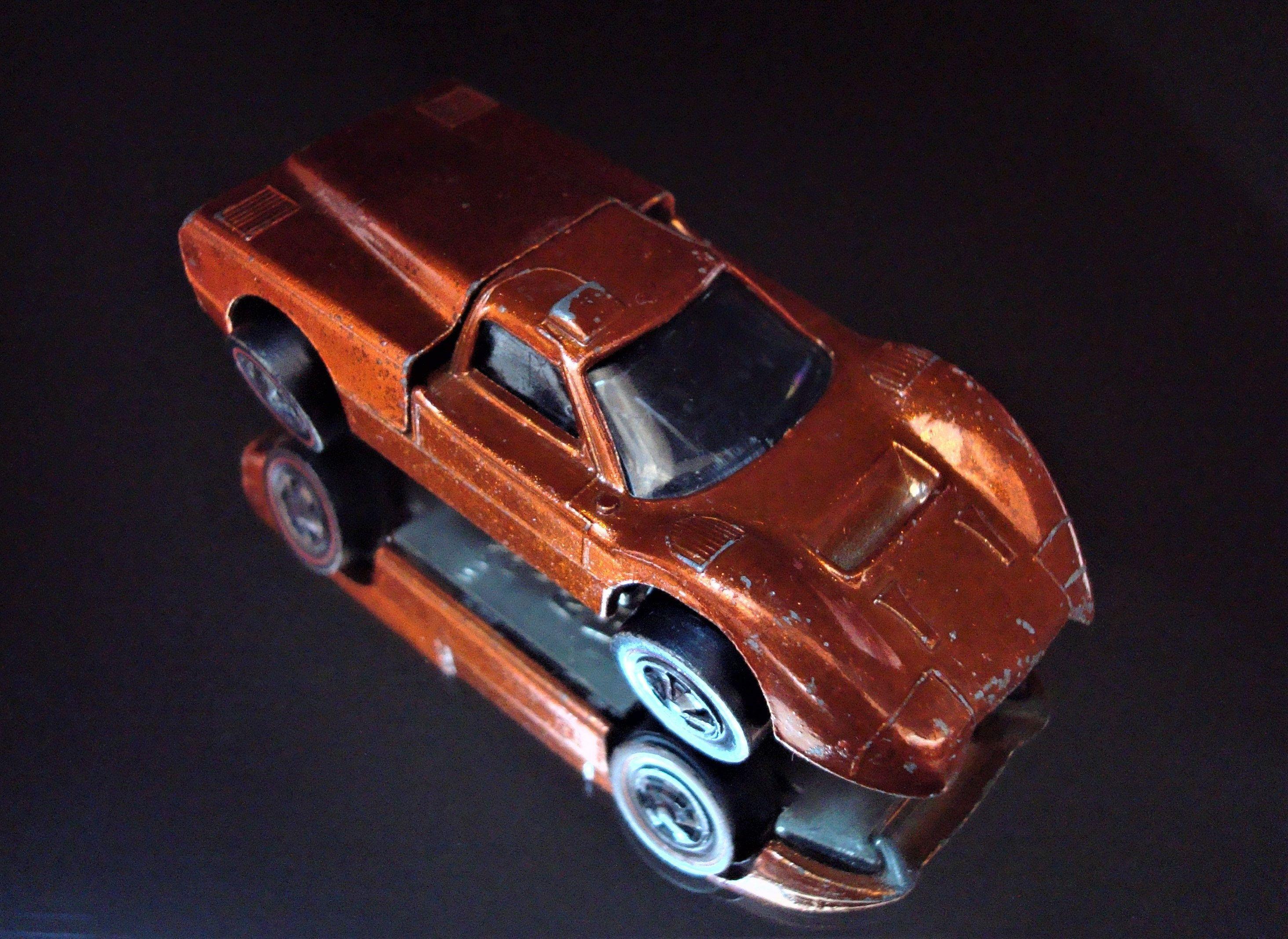 Vintage All Original Hot Wheels Spectraflame Orange Ford J