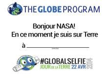Are you ready for your #GlobalSelfie?  GLOBE has the form available in 18 different languages. Take your selfie on Earth Day - http://go.usa.gov/kBGB