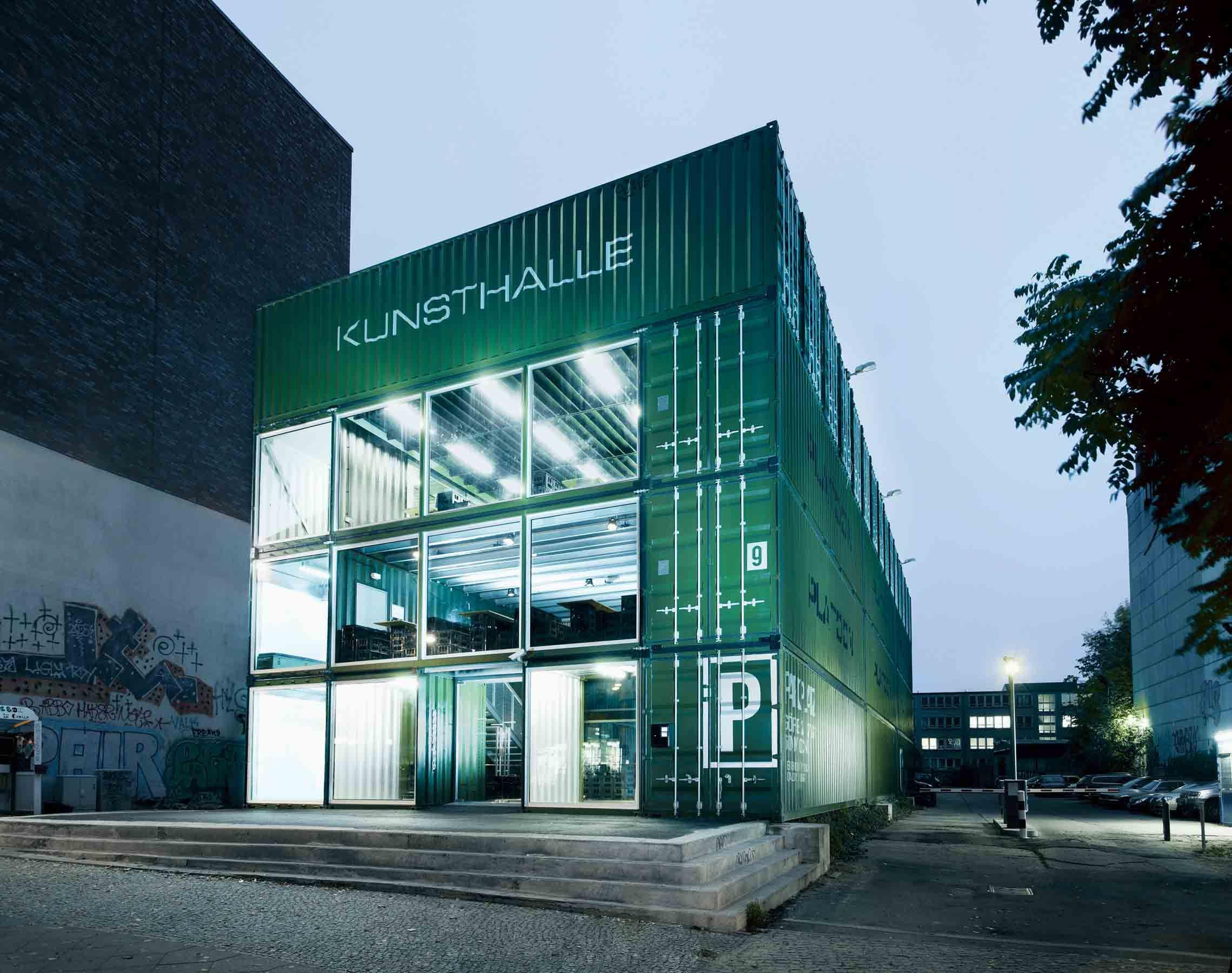 Container Haus Berlin projekt platoon kunsthalle berlin i architekten graft