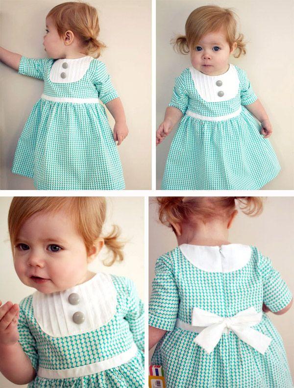 Patron d'une robe petite fille