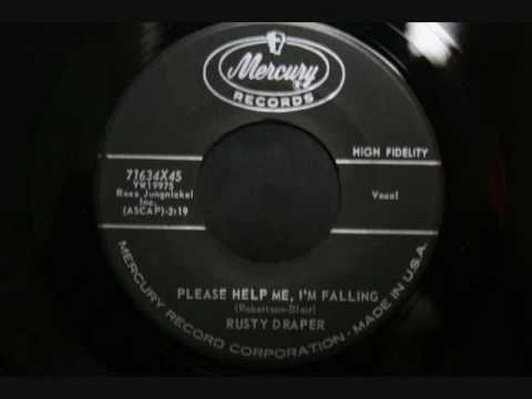 rusty draper - please help me, i'm falling | dusty draper songs on