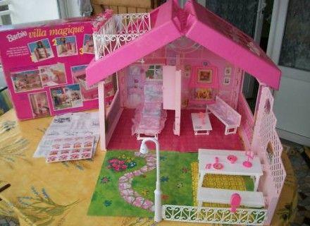 Villa barbie complète