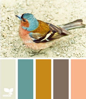 I love this palette. Not so much the pink, but I love the rest. Very cool site!!