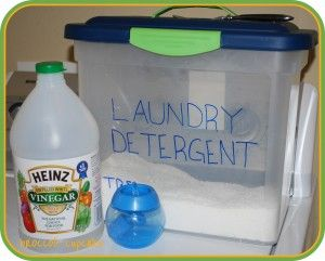 I Use White Vinegar In Our Wash Cycle I Just Add About 1 4 Cup To