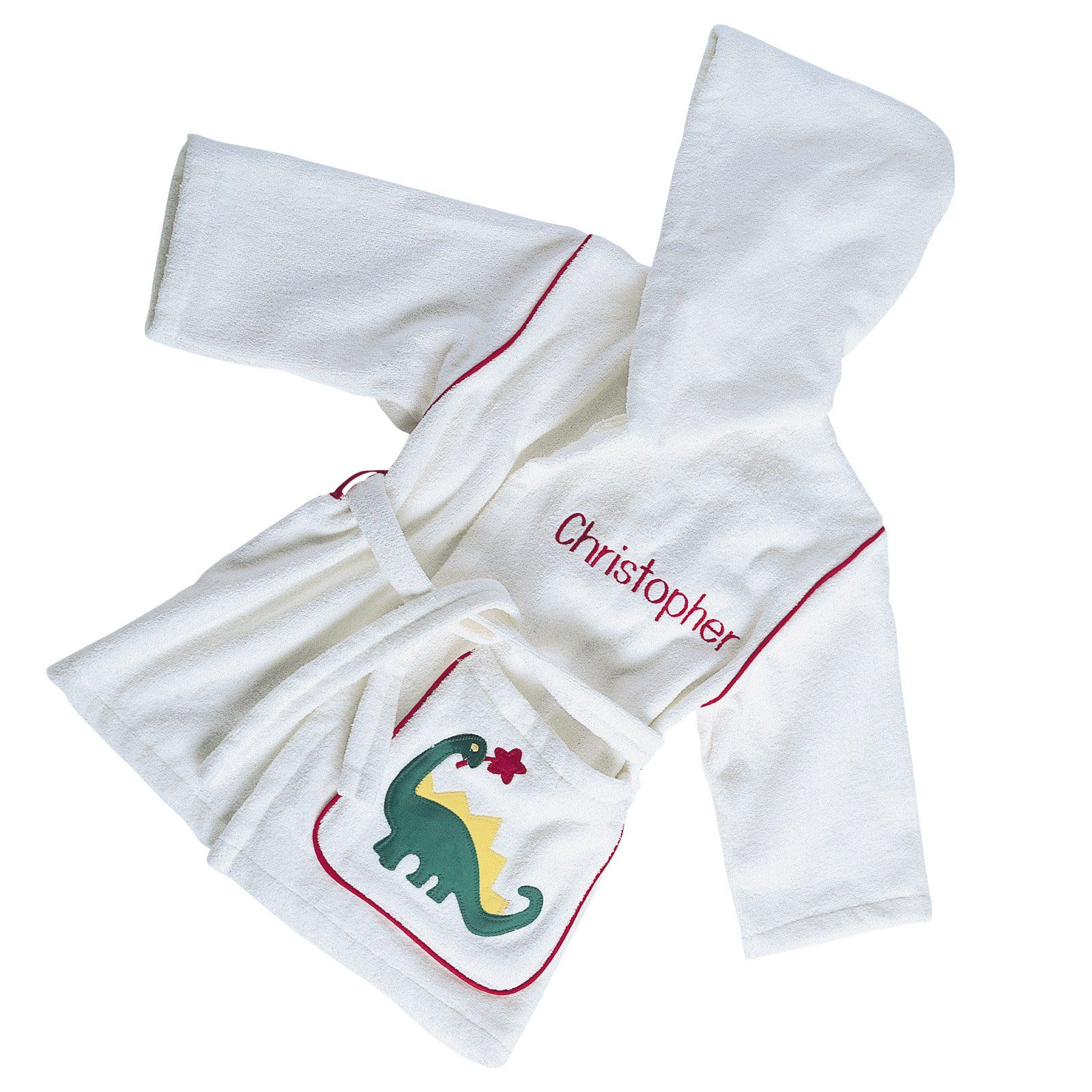 Jack and Jill Baby Robes - Luxury Bath Robes - Adorable 100% cotton robes made in the USA are soft and absorbent to keep your pride and joy warm and cozy. #BabyRobe #Terry
