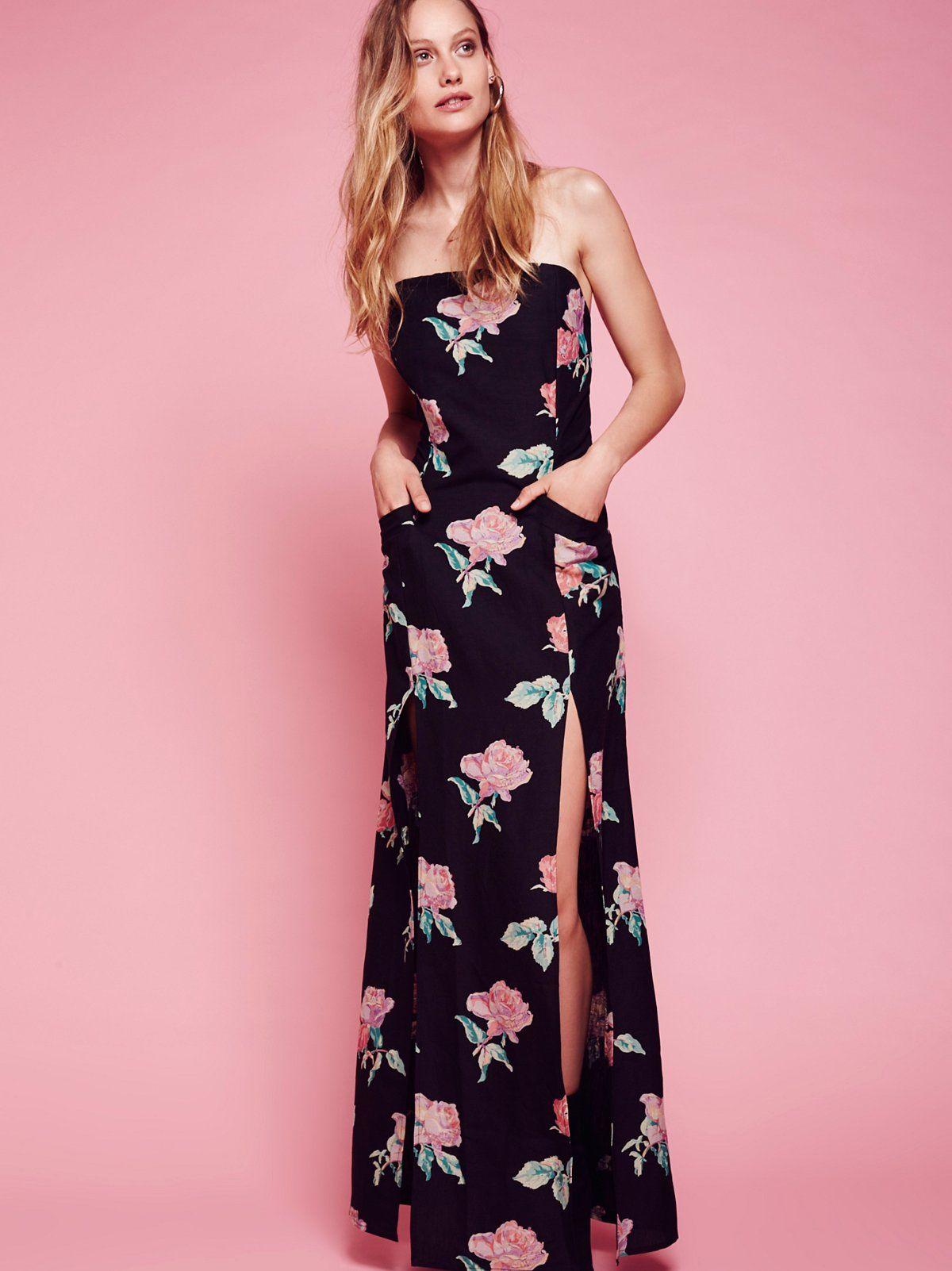 Primrose Gown White Maxi Dress Boho Bohemian Fashion Summer Shop Floral Dresses [ 1602 x 1200 Pixel ]