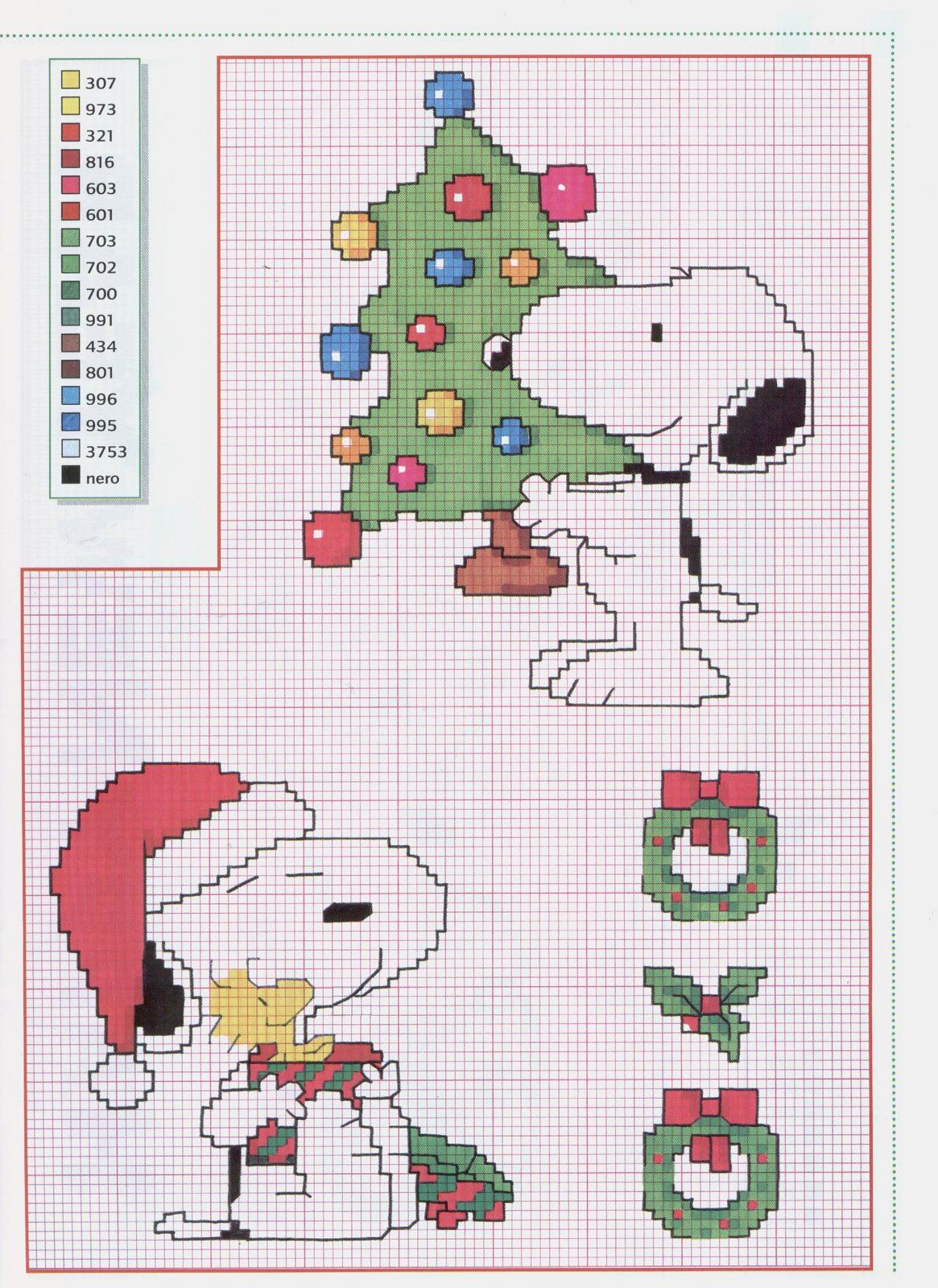 Ponto Cruz da Drayzinha: Graficos - Snoopy | Happy Birthday Deanna ...