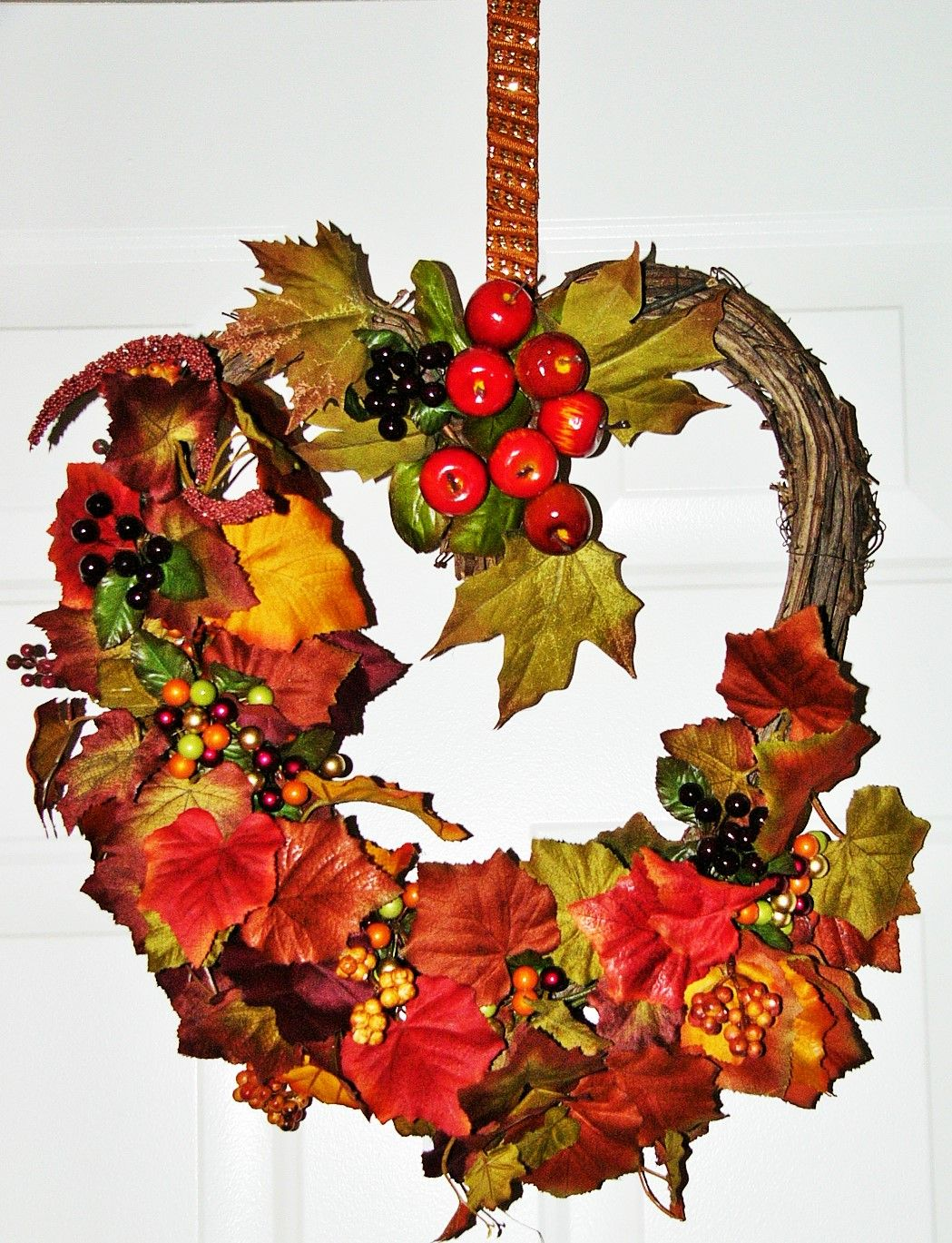 Thanksgiving Wreathe   Wreaths, Fall wreath, Decor
