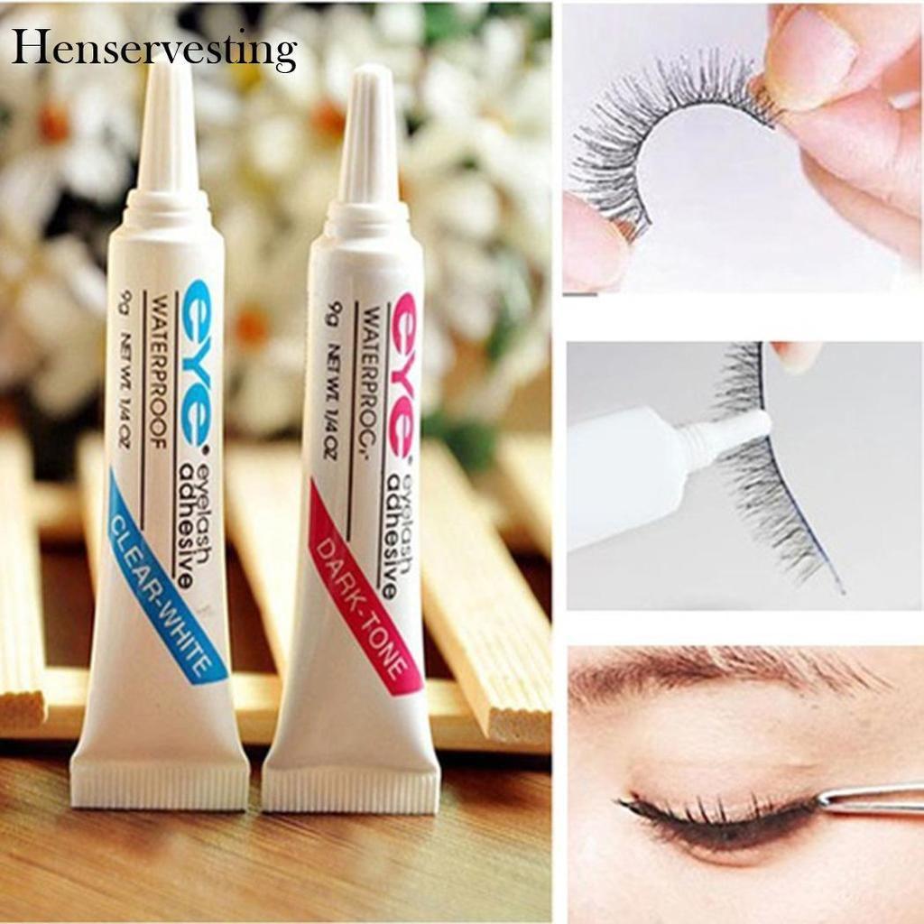 Eyelash glue product paste makeup easy remove eyelash