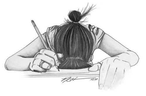 Chica Triste Tumblr Dibujo Imagui Draws Pinte