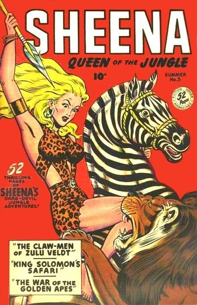 Sheena Queen of the Jungle