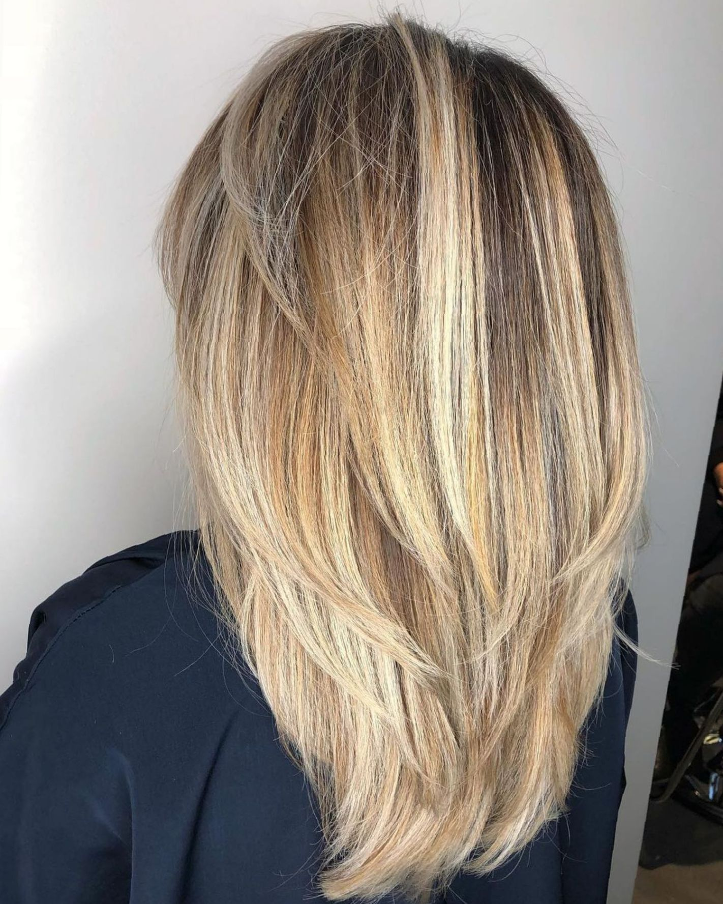 Long Layered Hairstyles 2019: Pin On Straight Hair Ideas