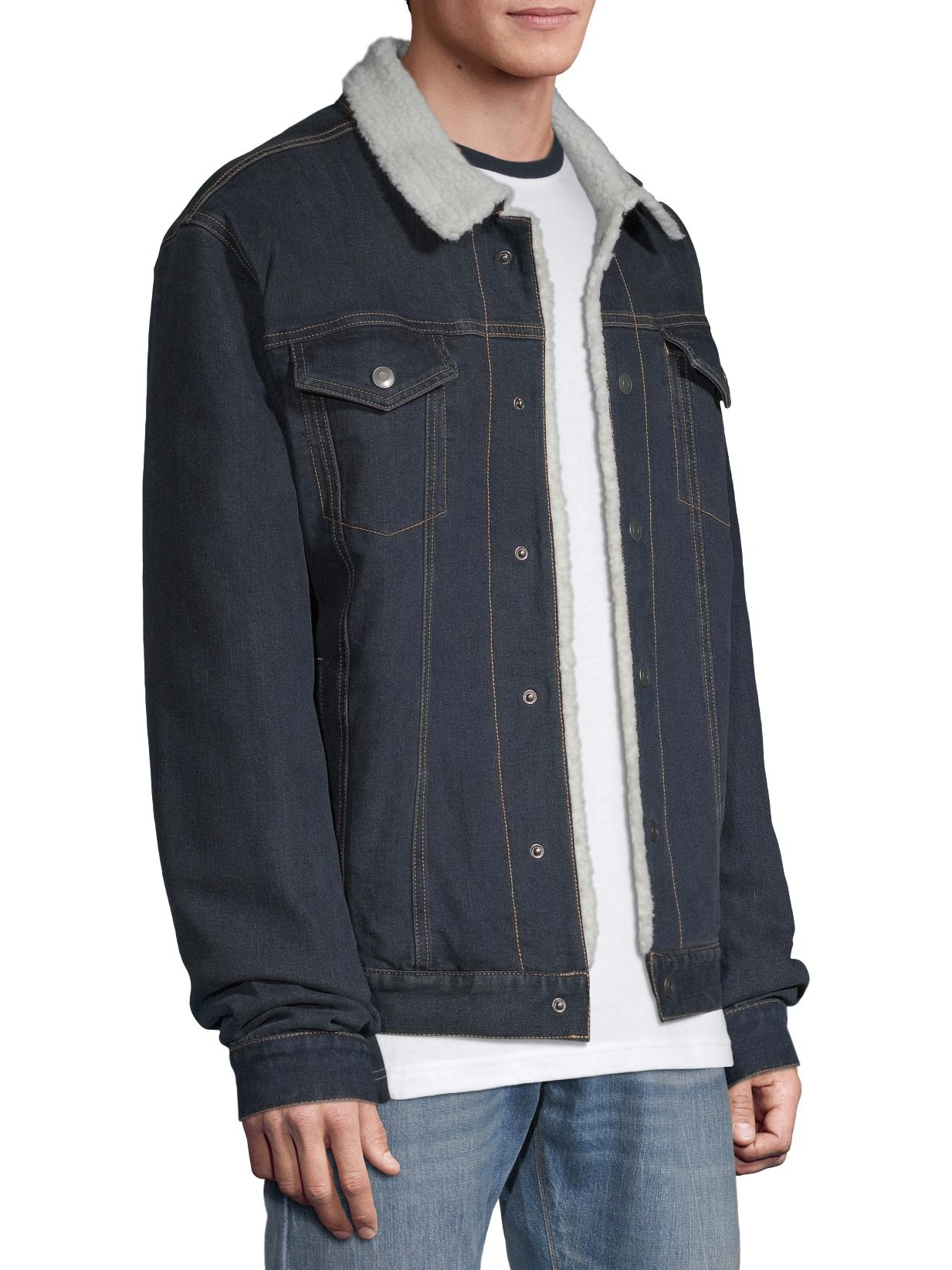 George George Men S And Big Men S Sherpa Lined Denim Jacket Up To Size 5xl Walmart Com Sherpa Lined Denim Jacket Denim Jacket Sherpa Lined Jacket [ 1644 x 1233 Pixel ]