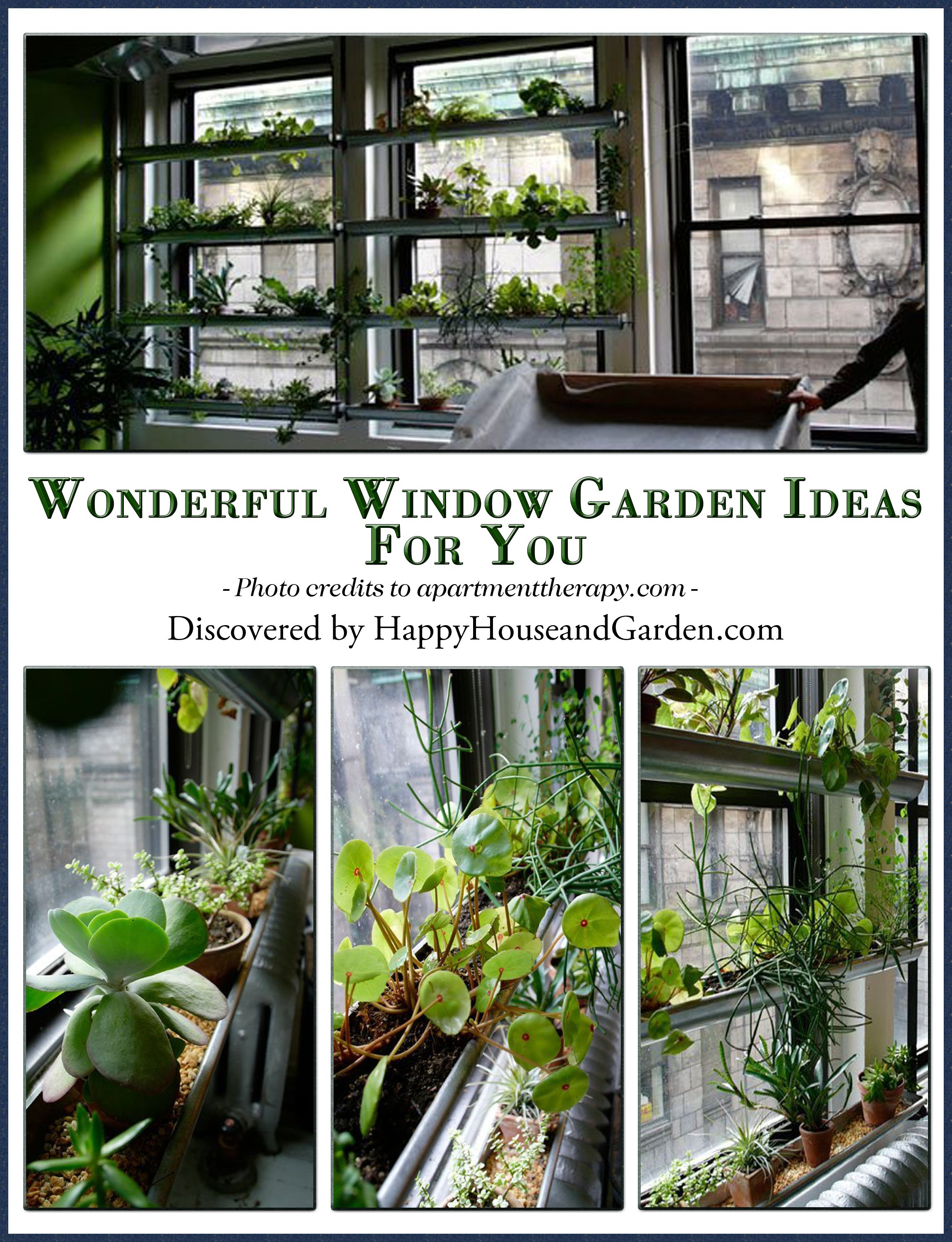 garden diy window jar genius cluttered attachment