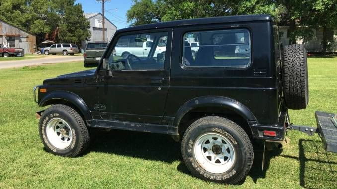 1985 Suzuki Samurai 4x4 Hardtop W New Winch For Sale In Central