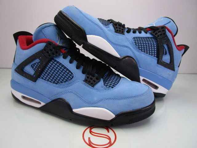 60490364c2ee77 Details about Air Jordan Retro 4 IV Cactus Jack - Size 11 Pre Owned ...