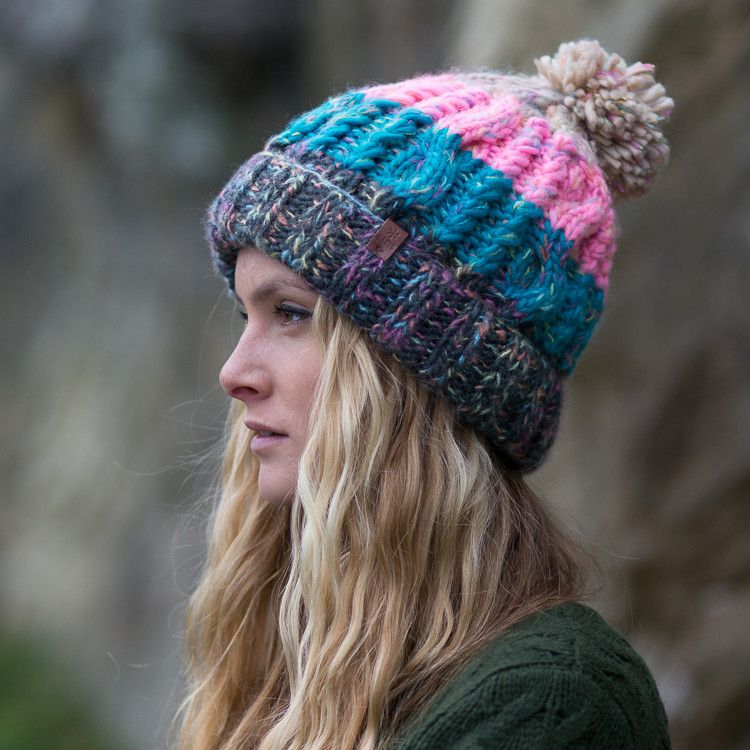 Barts Sandy Bobble Beanie Hat  918291f79c6