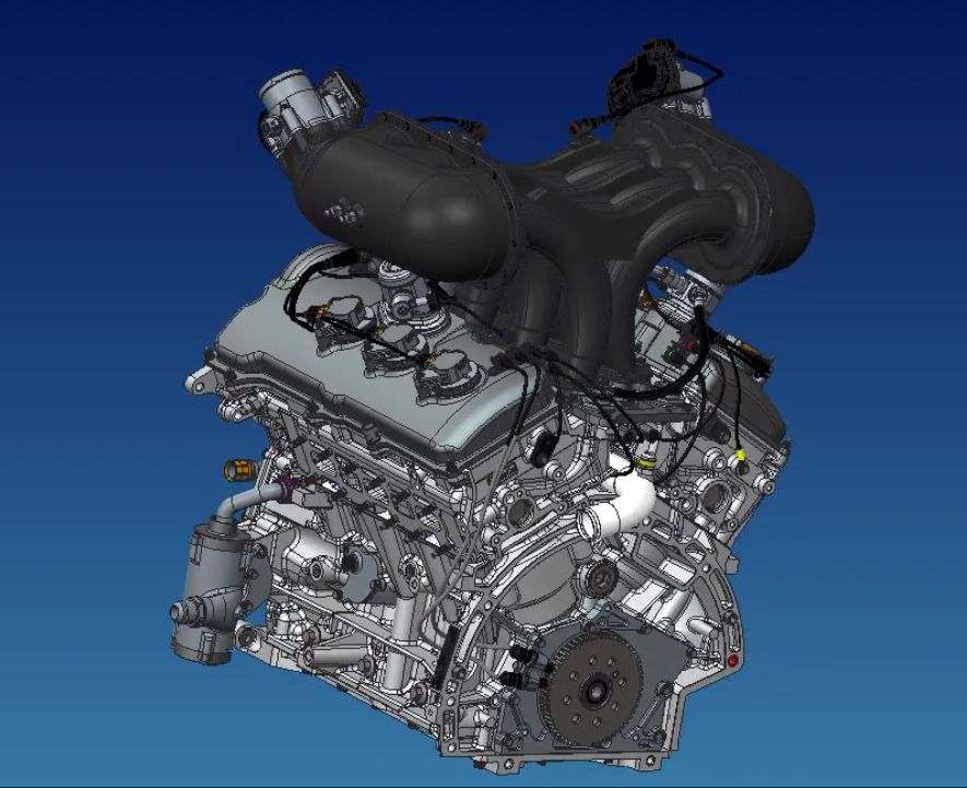 roush yates engines ford 35l dohc v 6 ecoboost race engine imsa - 2016 Ford Gt Engine