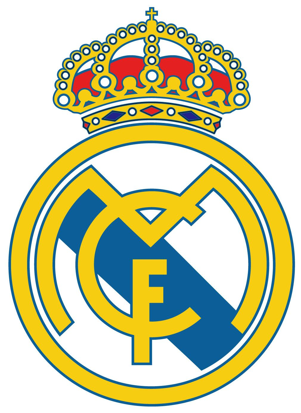 Real Madrid Logo Vector   Ideas for the House   Pinterest   Real ... 96f76d823b3