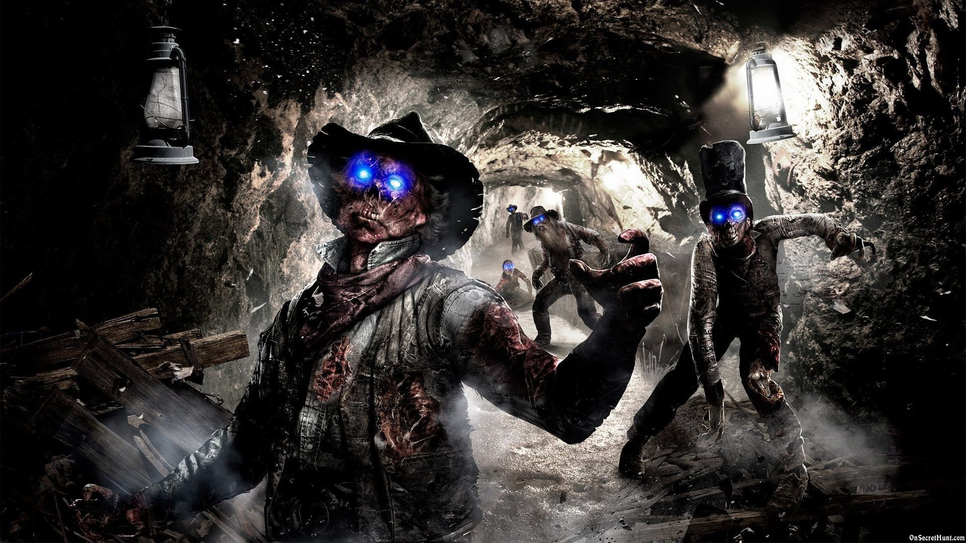 Call Of Duty Black Ops 2 Zombies Zombies 1080p Wallpaper