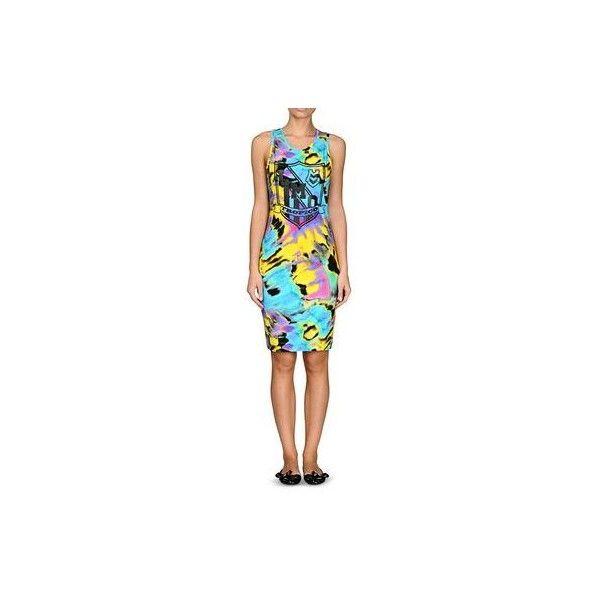 Short Dress Women - Moschino Online Store ($180) via Polyvore