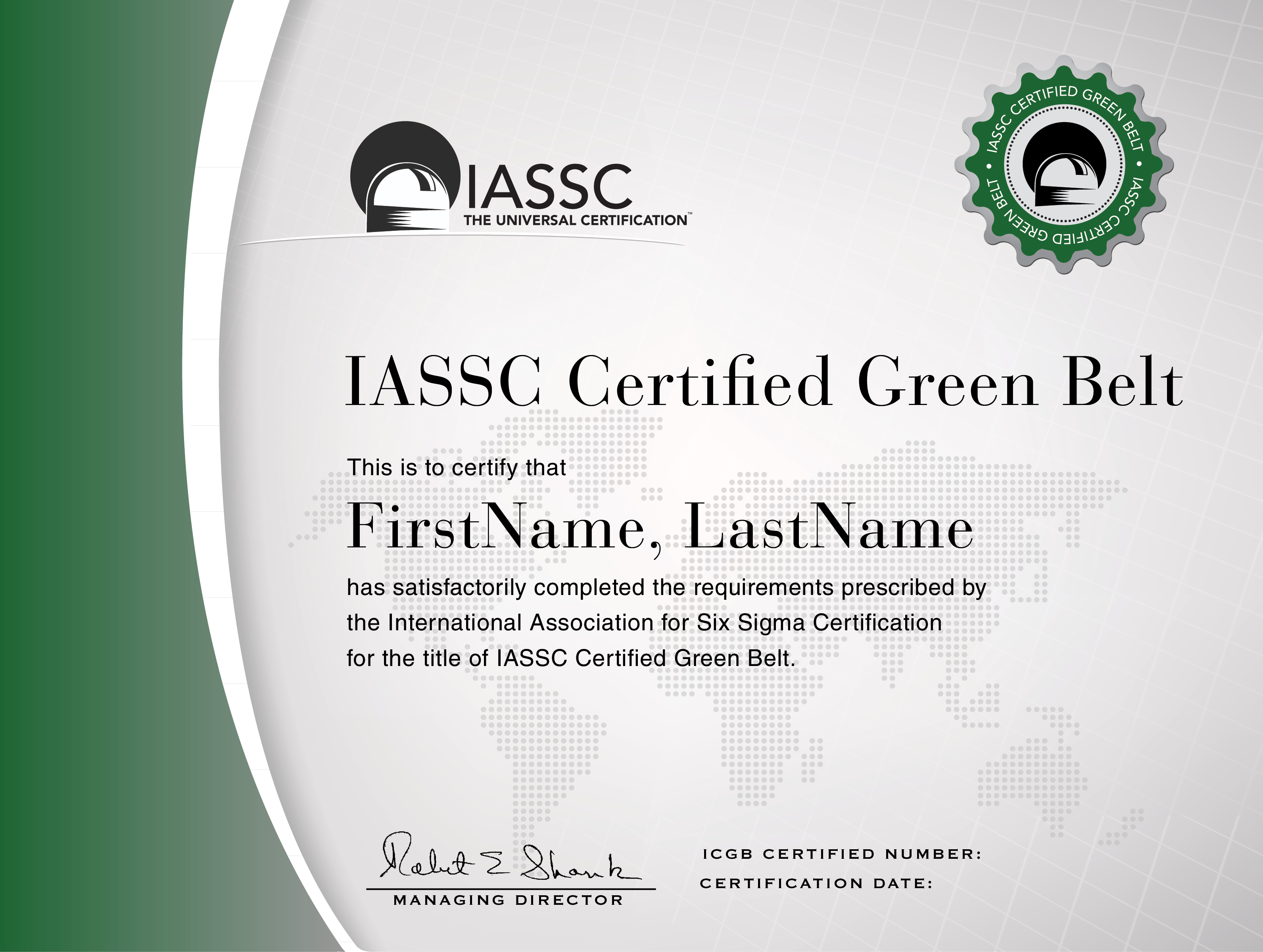 Iassc lean six sigma green belt certification six sigma green belt certification international association for six sigma certification 1betcityfo Gallery