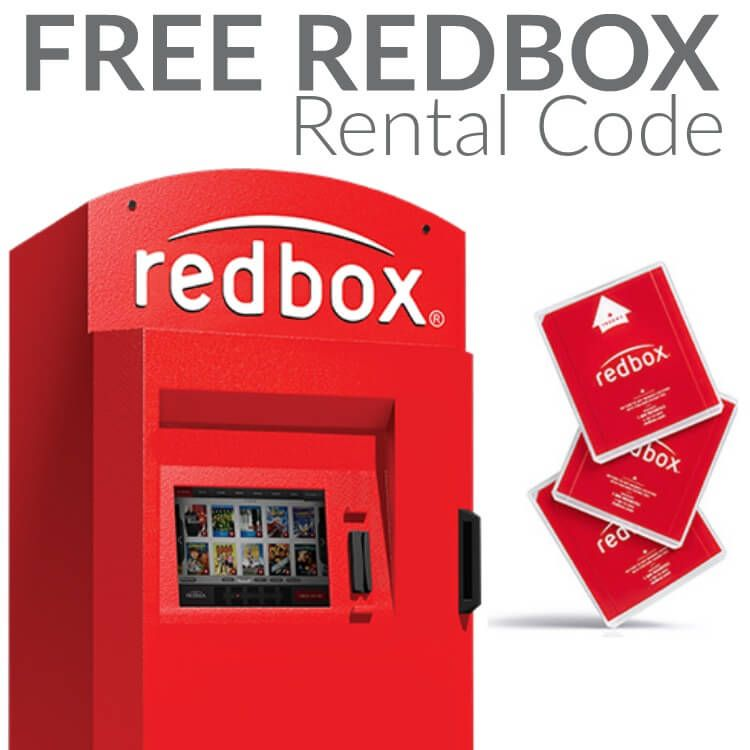redbox 25 days of deals and giveaways text free