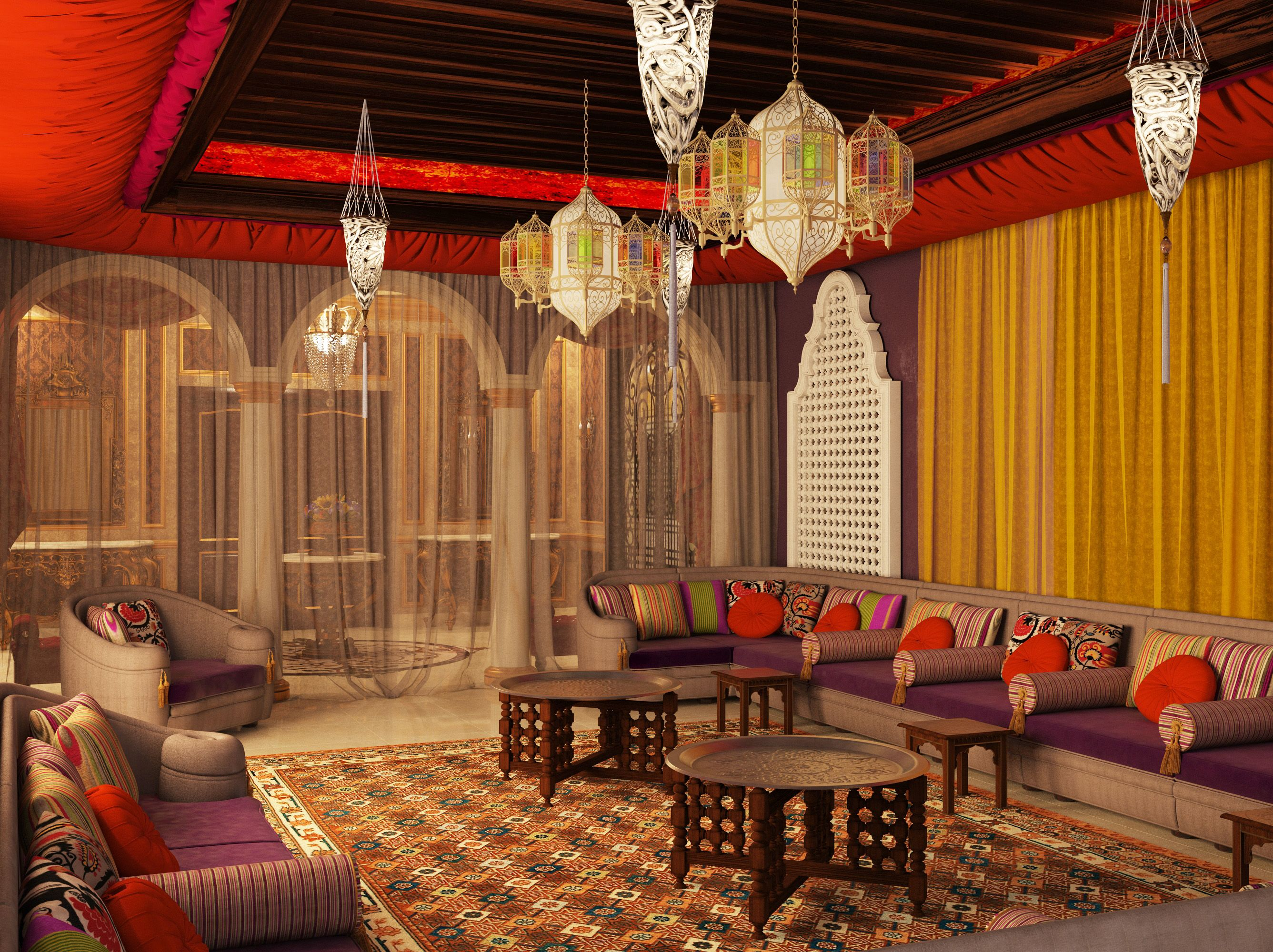 Majlis I Love This Arabic DesignMoroccan