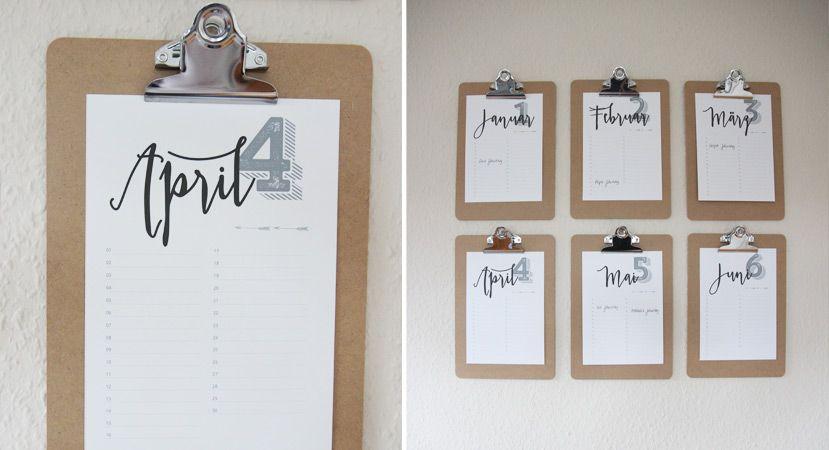 kalender selber machen » anleitung und download  otto